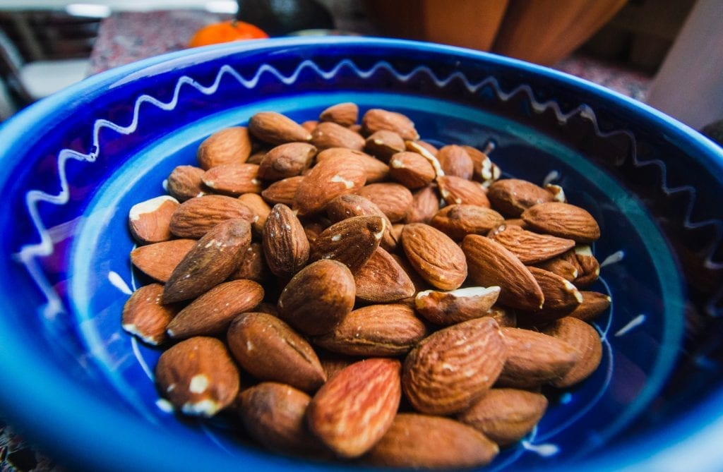 Monsoon Spiced Roasted Almonds